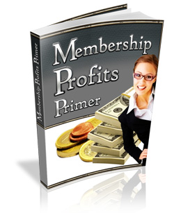 8 Brand New Reseller Products - Membership Profits Primer eBook Cover