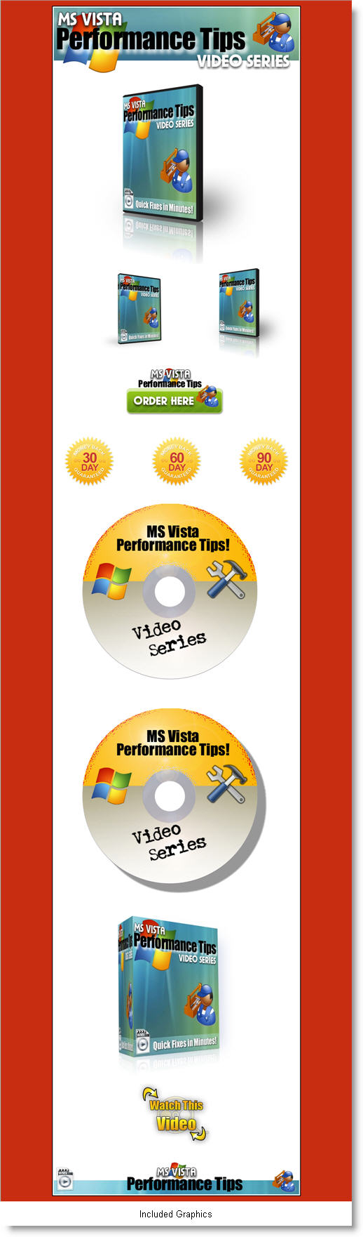 8 Brand New Reseller Products - MS Vista Performance Tips screenshot