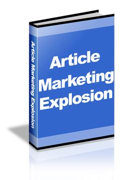 article marketing bonus ebook