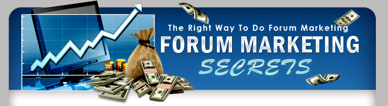 forum marketing secrets header