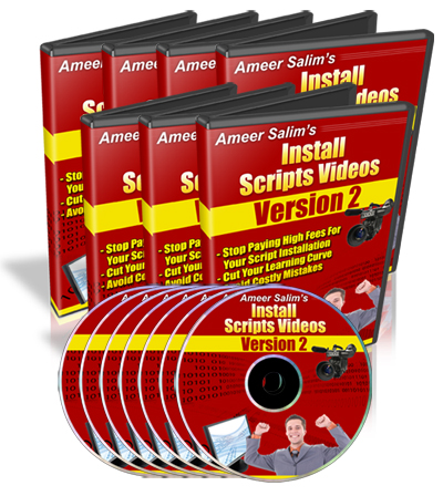 How To Build A Website & Increase Website Traffic - Install Scripts Videos eCover
