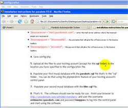 How to Install cgi & php Web Server Scripts screenshot 3