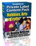 The Ultimate Software and eBook Collection  - 35 Hobbies, Arts & Crafts Articles eBox