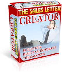 The Ultimate Software and eBook Collection - Sales Letter Creator eCover