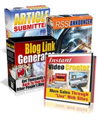 How to Build Website and Increase Website Traffic Video Course Package - Software & eBook Collection eCover