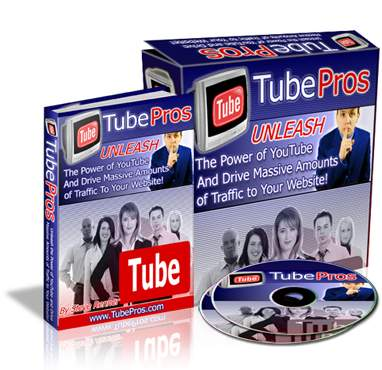 How to build website & increase website traffic video course package - Tube Pros eCover