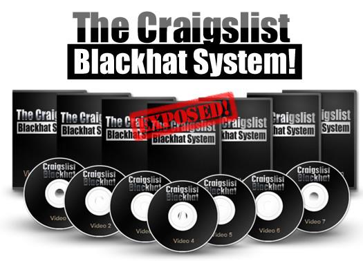 The Craigslist Blackhat System eCover