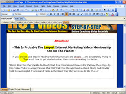 How to Create Mini Website Using Frontpage screenshot 3