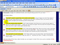 How to Create Mini Website Using Frontpage screenshot 9