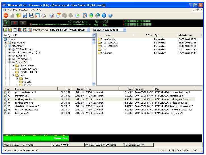 CD Burner XP Pro