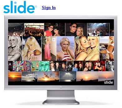 Slide software image